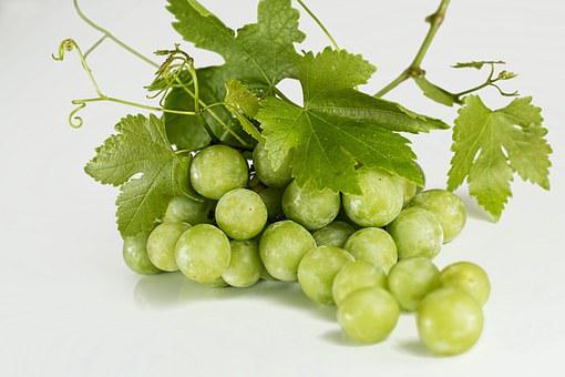 Grapes, Green, Fruit, Fresh, Bunch