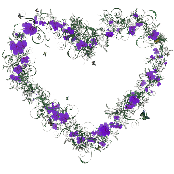 free illustration heart, flowers, blossom, bloom  free image on, Beautiful flower