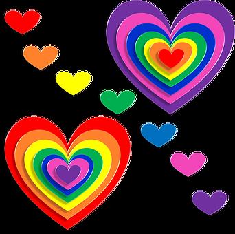 Herzen, Liebe, 3D, Valentinstag, Februar