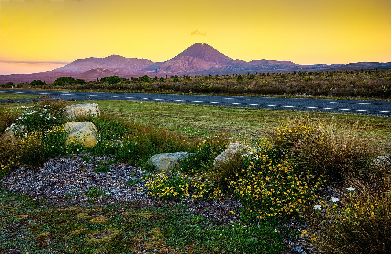 Tongariro: Lord of the rings
