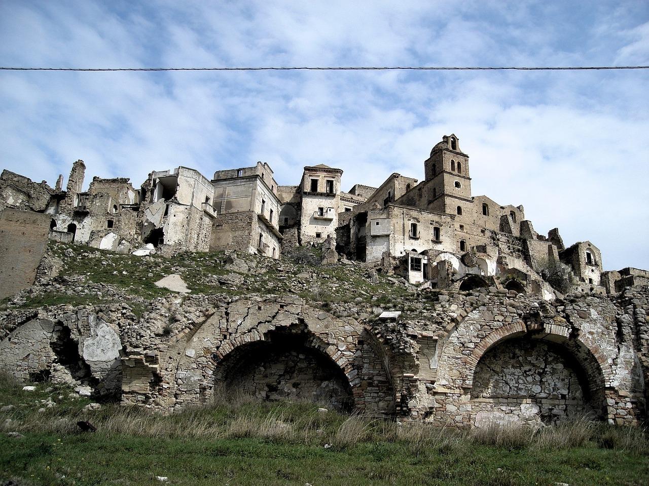 Craco Italia Tunawisma - Foto gratis di Pixabay