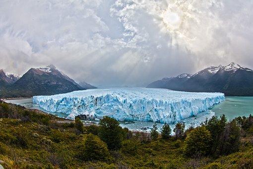 Glacier, Argentina, South America