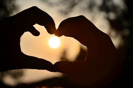 Coração, Quente, Luz E Sombra, Linda