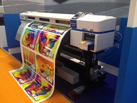 Maquina, Impresora, Imprenta, Tinta