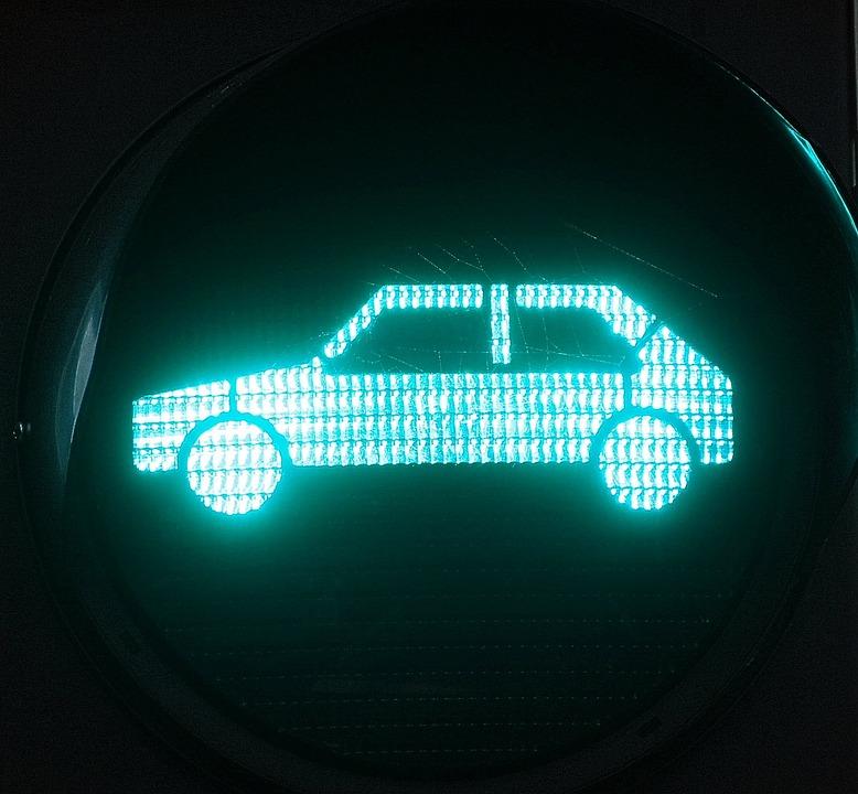 auto licht zeichen