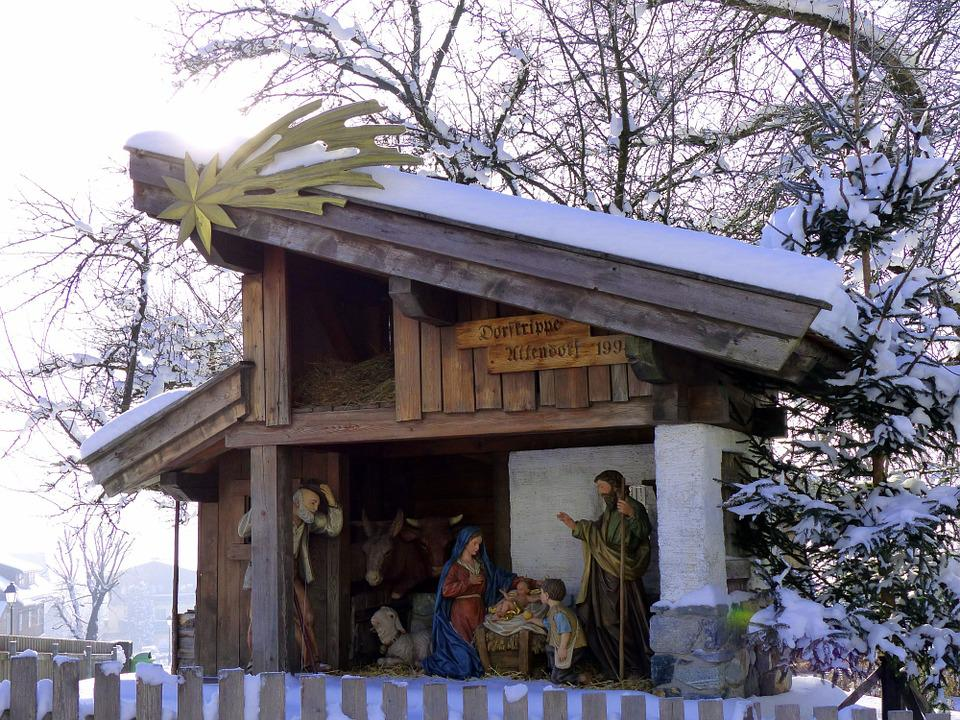 Decoration De Noel En Creche