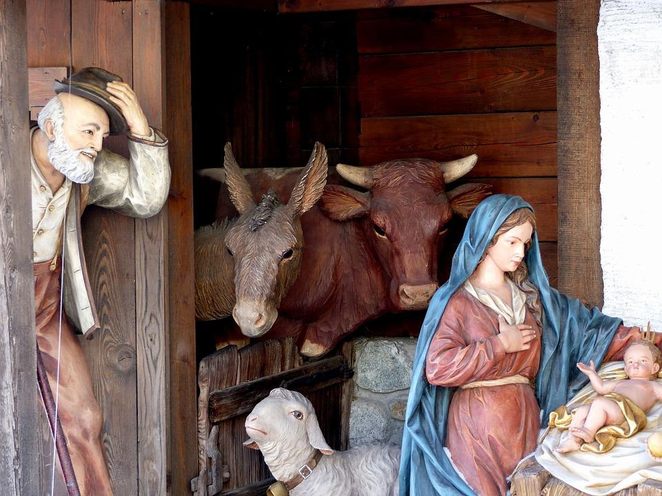 Pueblo Belén, Cuna, Cifras, Uttendorf, Navidad