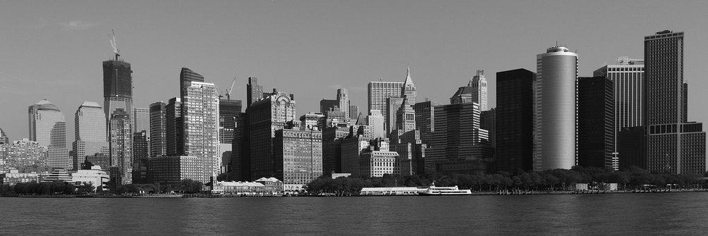 New York City Skyline Manhattan Citys