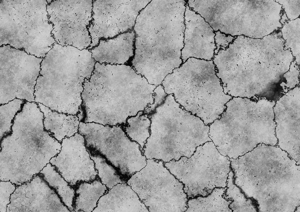 砂漠, 地球, 亀裂, 汚い, 土, 構造, グランド, 乾燥, しわ, ラウ, 割れた, 脆性, 頑丈です