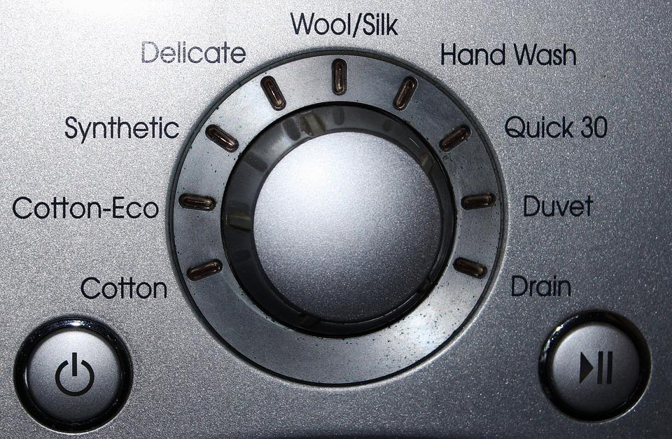 washing machine screen
