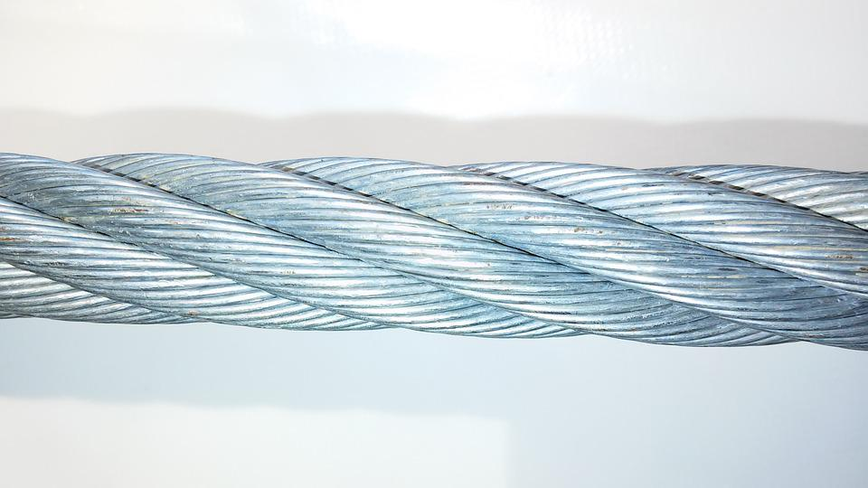 Wire Rope Steel Cable Helix Metal