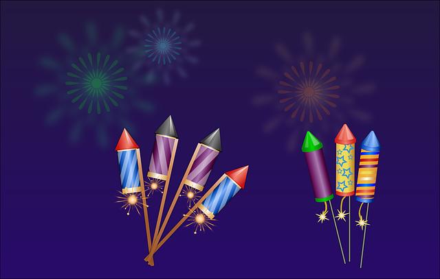 feuerwerk raketen 183 kostenlose vektorgrafik auf pixabay