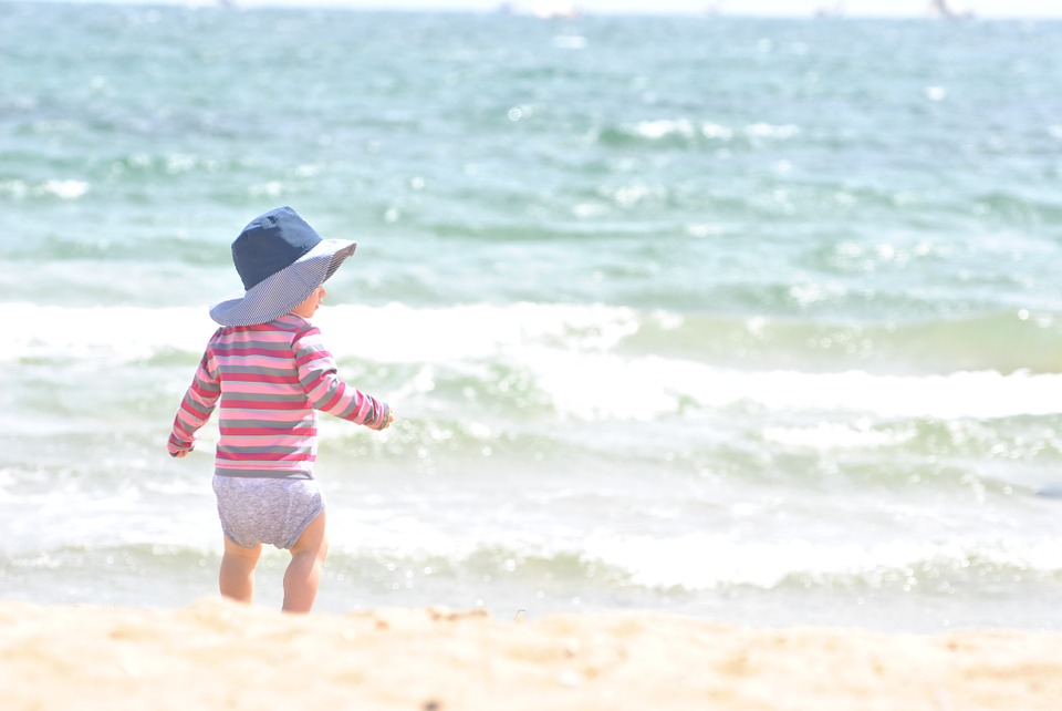 Free Photo Child Beach Baby Kid Sea Free Image On