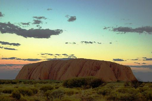 Australia's Top Ten Natural Beauty Spots for 2020 Ayers Rock, Uluru, Australia, Outback