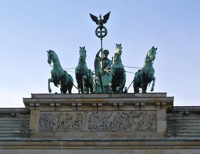 brandenburger tor quadriga berlin 183 kostenloses foto auf