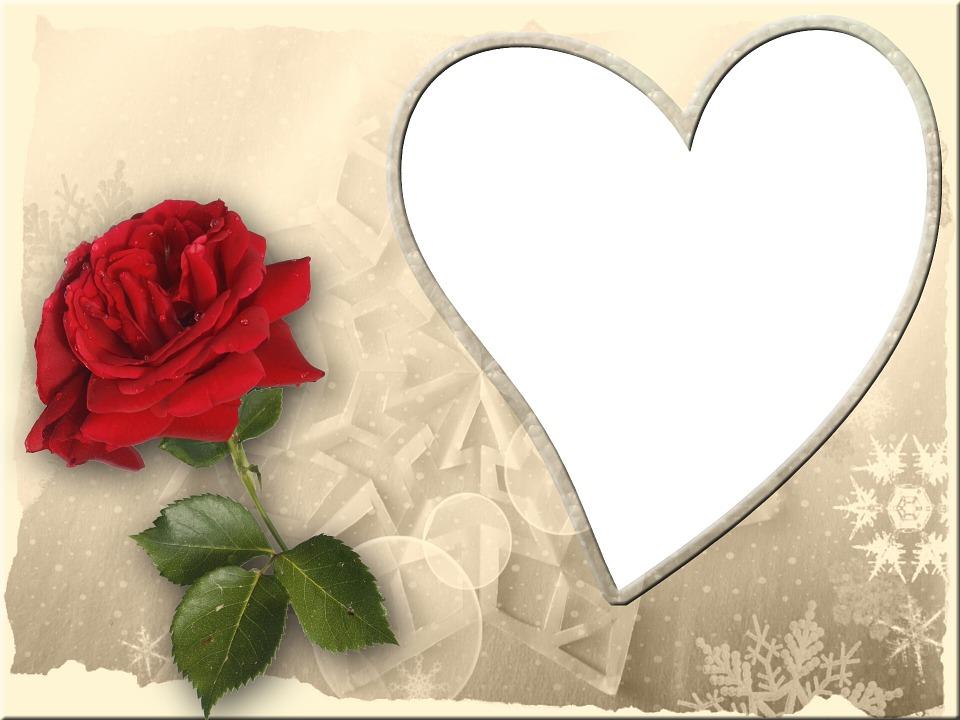 Valentin Grußkarte Rahmen · Kostenloses Bild auf Pixabay