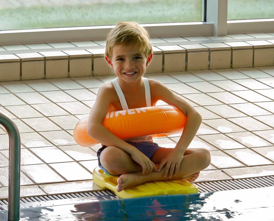 Swim, Swimming Lessons, Boy, Pool, Sport