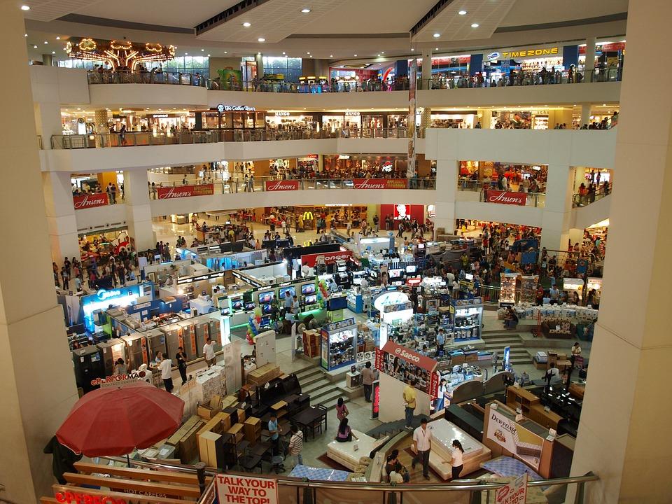 Centro Comercial, Compras, Interior, Tienda, Venta