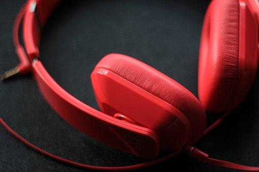 Headphones, Music, Entertainment, Sound