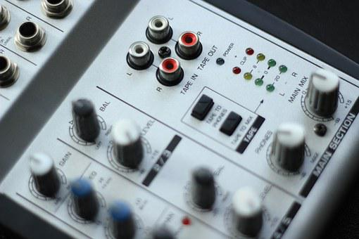 マイク, 技術, エンターテイメント, サウンド, オーディオ, リスニング