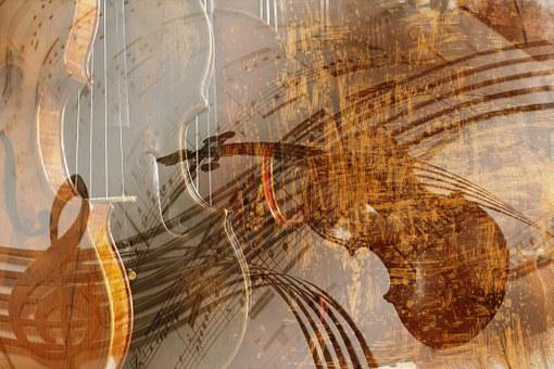 Violin Background Texture Music Instr