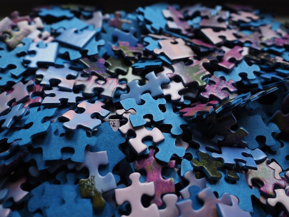 Pieces Of The Puzzle Play Piecing Together