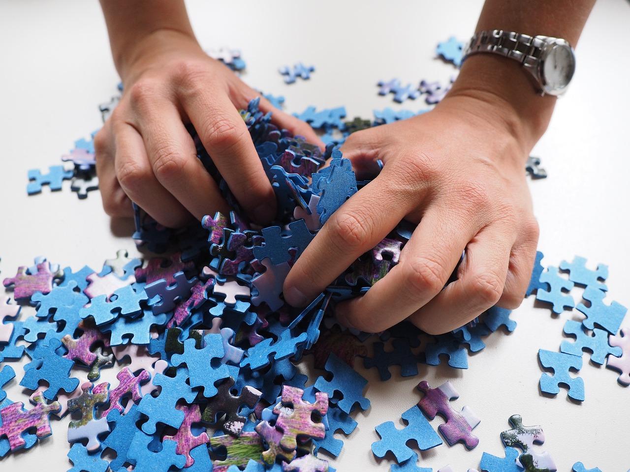 Un puzzle en vrac