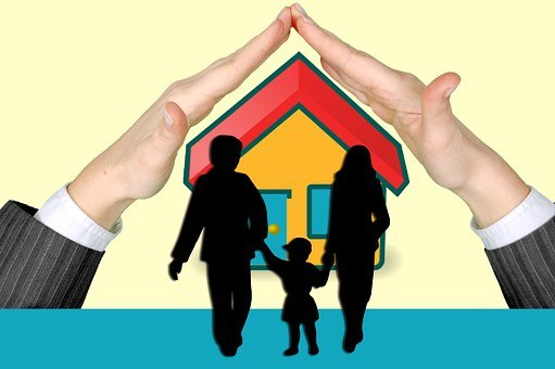 Family Protection Hands Home Insurance Mot