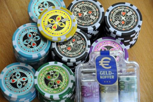 Gambling, Chips, Money, Poker, Casino