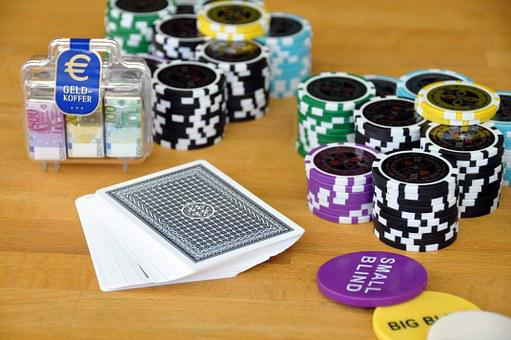 Play, Card Game, Poker, Poker Chips