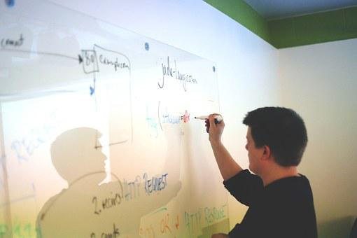 White Board, Startup, Start-Up