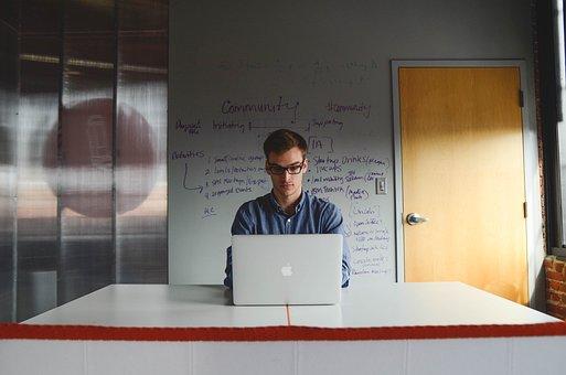 Entrepreneur, Startup, Start-Up, Man