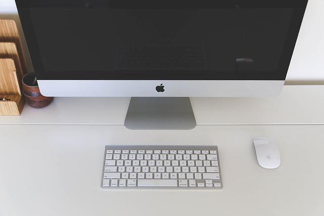free photo home office computer mac free image on pixabay 593381. Black Bedroom Furniture Sets. Home Design Ideas