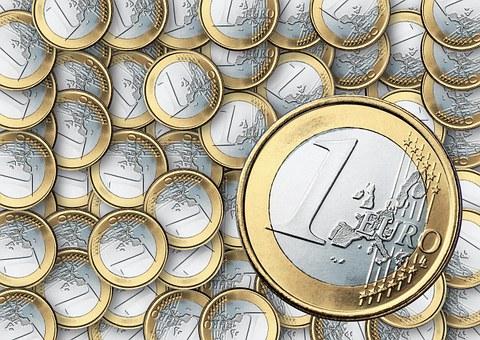 Euro, Koin, Inflasi, Penyitaan Uang, 1