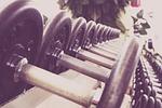 fitness, dumbbells, training