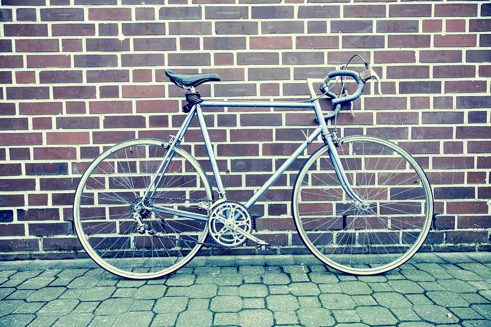 ロードバイク, 自転車, ピスト, 固定ギア, シングル スピード, ヴィンテージ, レトロ, 都市