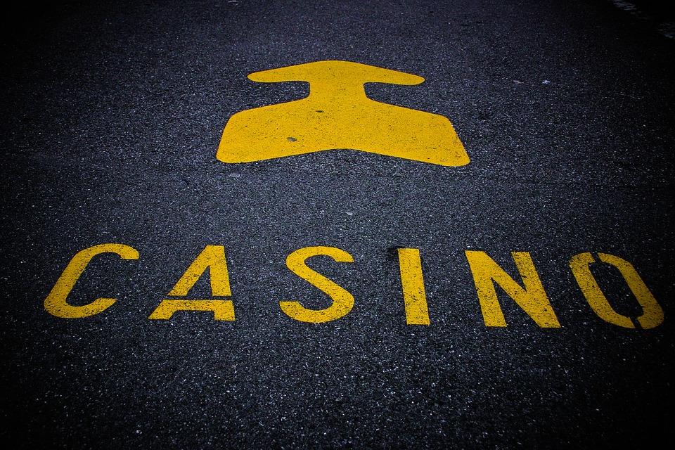 Casino, Note, Roadway, Mark, Arrow, Gambling, Addiction