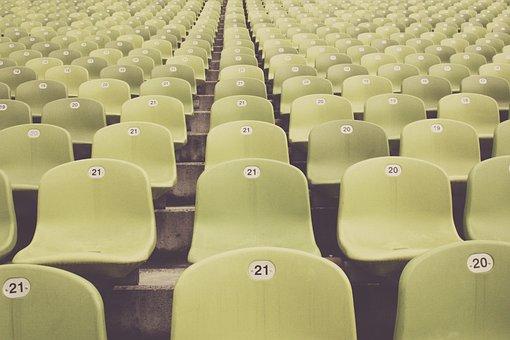 Bleachers Stadium Football Viewers Fan Foo