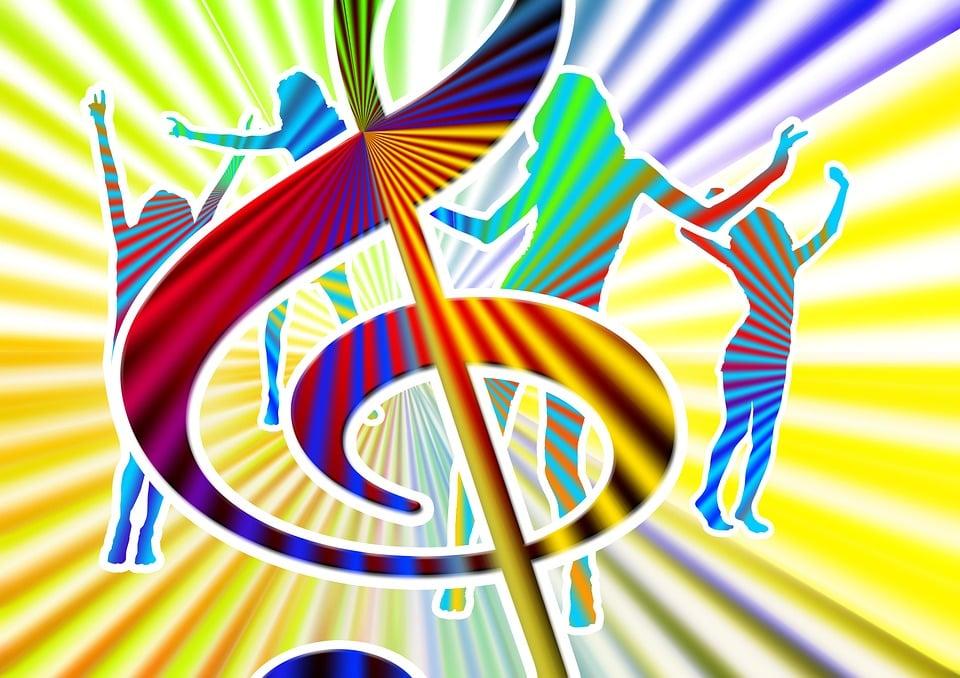 Illustration gratuite la musique danse fun partie for Musique barre danse classique gratuite