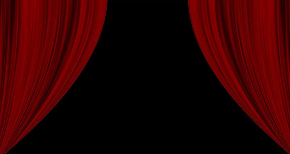 Rideaux Cinéma Rouge · Image gratuite sur Pixabay