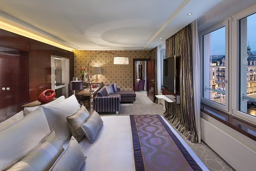 Hotel, Living Room, Indoors
