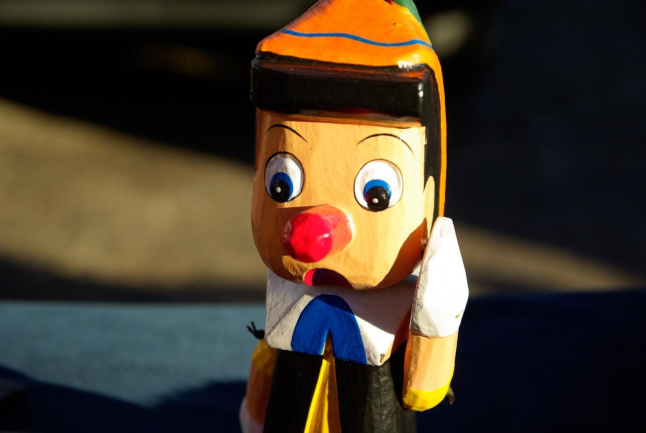 In the original Italian story, Pinocchio kills Jiminy Cricket with a hammer.