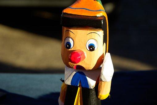 Pinocchio, Puppet, Conte, Italy