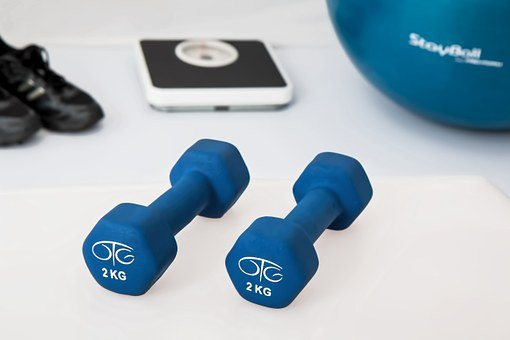 Physiotherapy Weight Training Dumbbell Exe