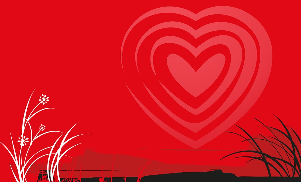 illustration gratuite saint valentin coeur amour. Black Bedroom Furniture Sets. Home Design Ideas
