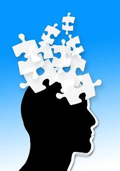 認知症, アルツハイマー病, 年齢, パズル, パズルのピース, 共有, 定数