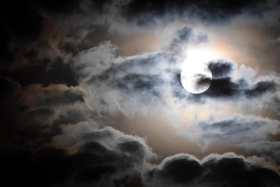 Très Photo gratuite: Pleine Lune, Lune, Clair De Lune - Image gratuite  DR08