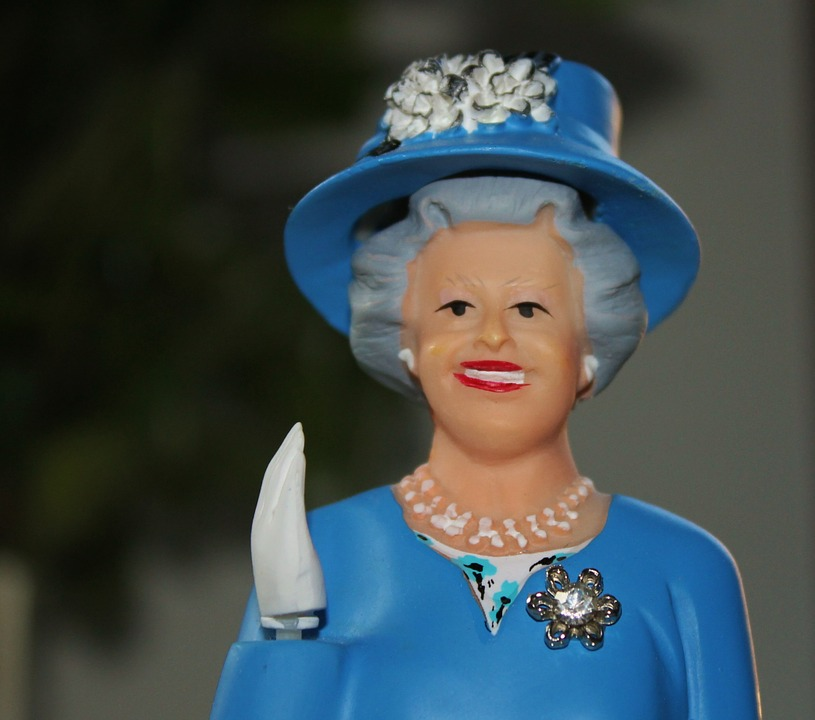 Free Photo Queen Figure Wave England Blue Free