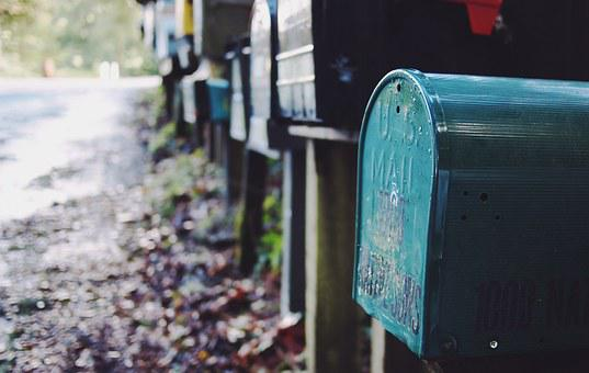 Mailbox, Post, Mail, Letter, Box, Postal