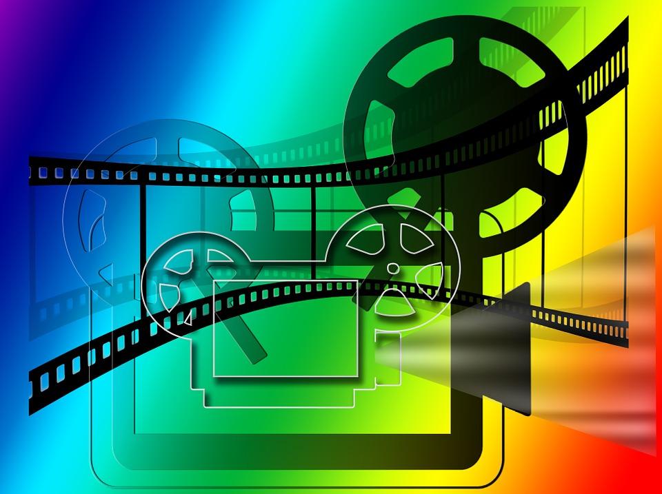 Cinema film projector